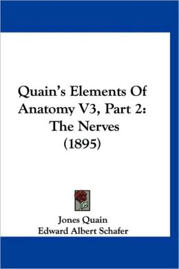 Quain's Elements Of Anatomy V3, Part 2