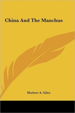 China And The Manchus