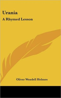 Urania: A Rhymed Lesson
