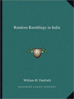 Random Ramblings in India