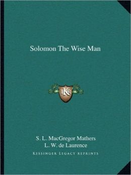 Solomon The Wise Man