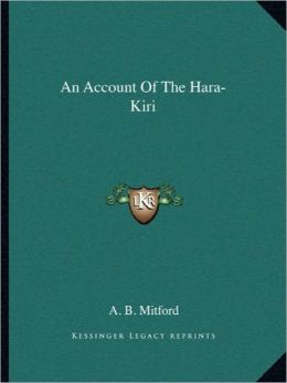 An Account Of The Hara-Kiri