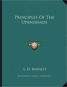 Principles Of The Upanishads
