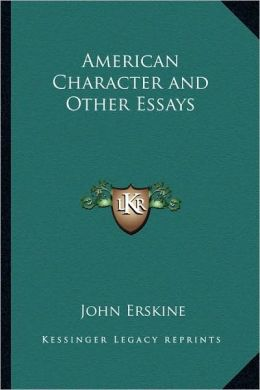 American Character and Other Essays
