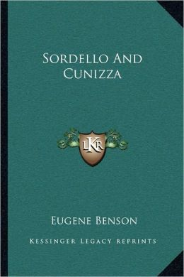 Sordello And Cunizza