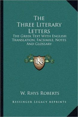 The Three Literary Letters
