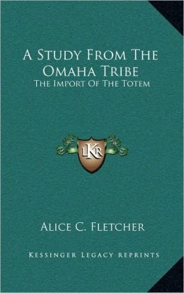 A Study From The Omaha Tribe