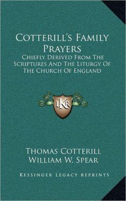 Cotterill's Family Prayers