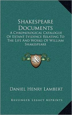 Shakespeare Documents