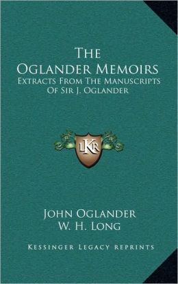 The Oglander Memoirs