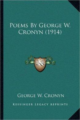Poems by George W. Cronyn (1914)