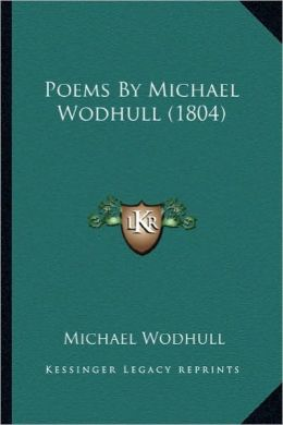 Poems by Michael Wodhull (1804)