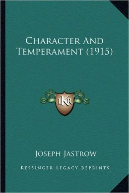 Character and Temperament (1915)