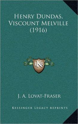 Henry Dundas, Viscount Melville (1916)