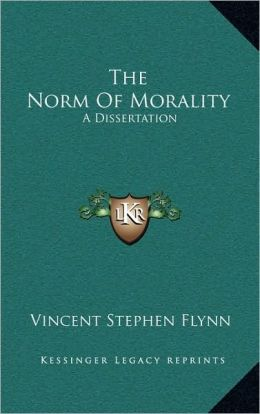 The Norm Of Morality