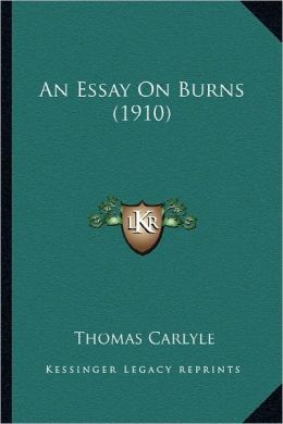 An Essay On Burns (1910)