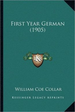 First Year German (1905)