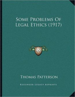 Some Problems Of Legal Ethics (1917)