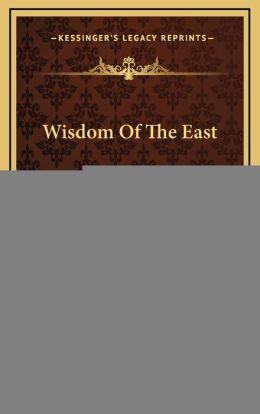 Wisdom Of The East: The Persian Mystics, Jami (1908)