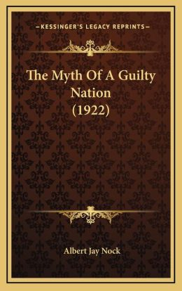 The Myth Of A Guilty Nation (1922)