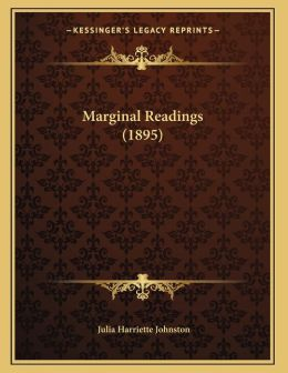 Marginal Readings (1895)