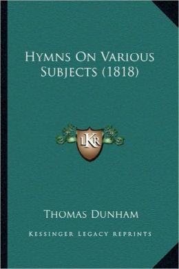 Hymns on Various Subjects (1818)