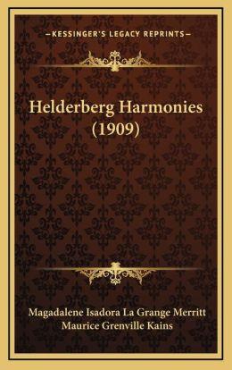 Helderberg Harmonies (1909)