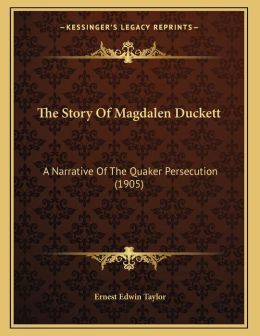 The Story Of Magdalen Duckett