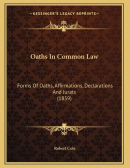 Oaths In Common Law