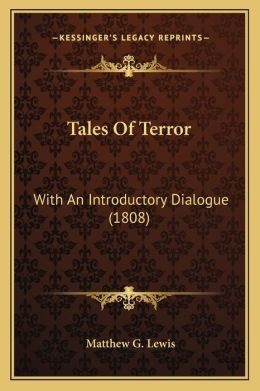 Tales of Terror: With an Introductory Dialogue (1808)