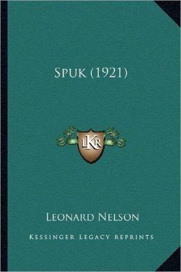 Spuk (1921)