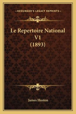 Le Repertoire National V1 (1893)