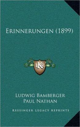 Erinnerungen (1899)