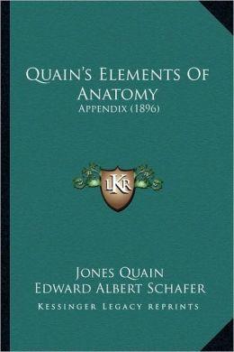 Quain's Elements Of Anatomy: Appendix (1896)