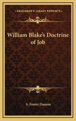 William Blake's Doctrine Of Job