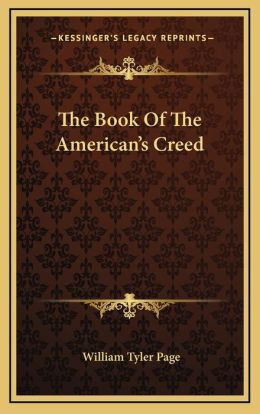 The Book Of The American's Creed