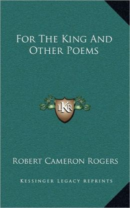 For The King And Other Poems