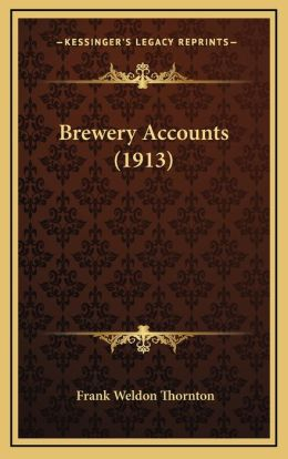 Brewery Accounts (1913)