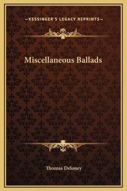 Miscellaneous Ballads