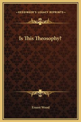 Is This Theosophy?