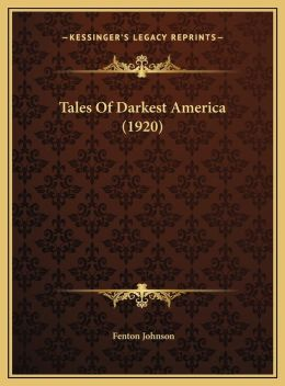 Tales Of Darkest America (1920)