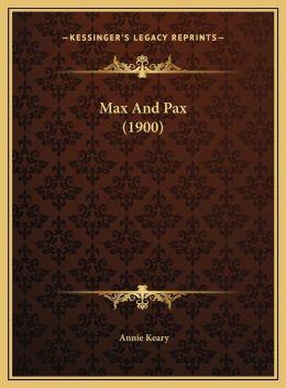 Max And Pax (1900)