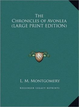 The Chronicles of Avonlea