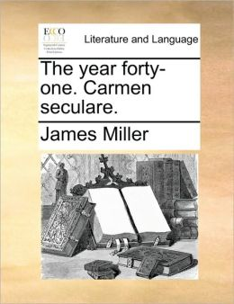 The year forty-one. Carmen seculare.