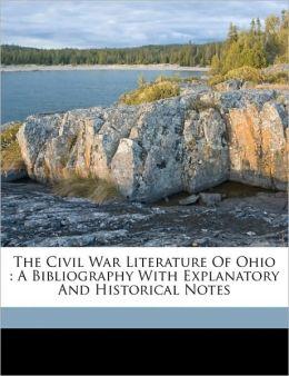 The Civil War Literature Of Ohio