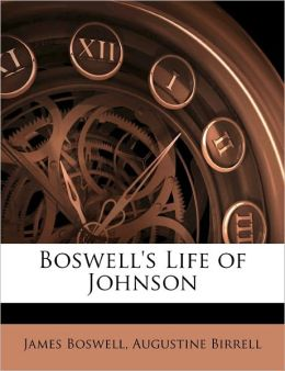 Boswell's Life Of Johnson