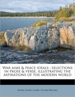 War Aims & Peace Ideals