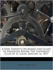 A New Travesty On Romeo And Juliet