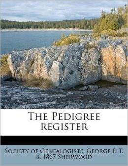 The Pedigree register