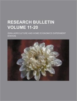 Research Bulletin